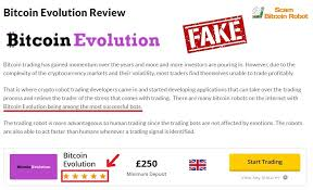 bitcoin fake evalution